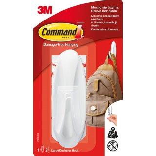 Haczyk uniwersalny wielokrotnego użytku do 2,2 kg udźwigu COMMAND