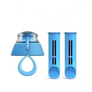 Zestaw niebieskich wkładów do butelki  DAFI