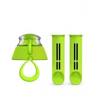 Zestaw zielonych wkładów do butelki DAFI