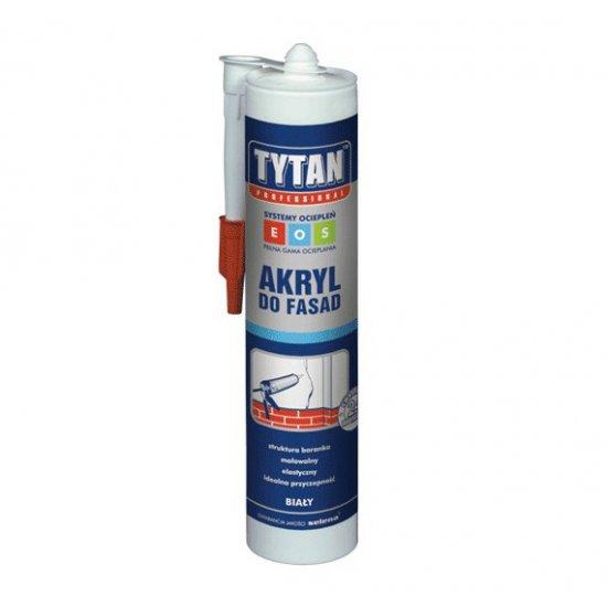 Akryl do fasad biały 310 ml TYTAN