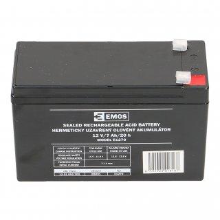 Akumulator AGM 12V 7Ah F4,7 EMOS