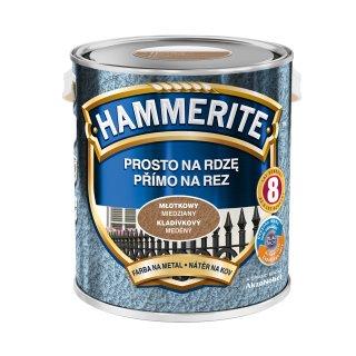 Farba do metalu Młotkowy Miedziany 2,5 L HAMMERITE