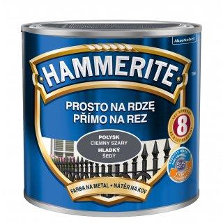 Farba antykorozyjna Hammerite Ciemny szary 0,25 L AKZO NOBEL