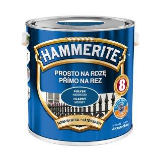 Farba do metalu Połysk Niebieski 2,5 L HAMMERITE