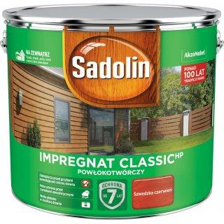 Impregnat do drewna  Szwedzka czerwień 9L Sadolin Extra