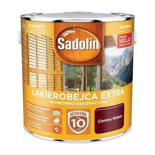 Impregnat do drewna  Ciemny Mahoń 2,5L Sadolin Extra