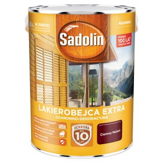 Impregnat do drewna Ciemny Mahoń 5L Sadolin Extra