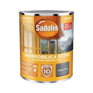 Impregnat do drewna  Ciemny Szary 0,75L Sadolin Extra