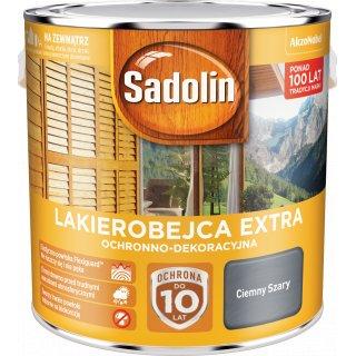 Impregnat do drewna Ciemny Szary 2,5L Sadolin Extra