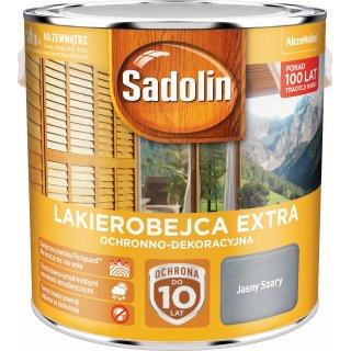 Impregnat do drewna Jasny Szary 2,5L Sadolin Extra