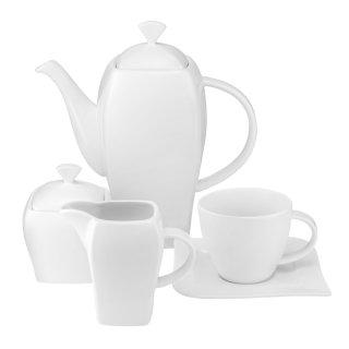 Komplet kawowy Fala 220 ml 17-elementowy AMBITION