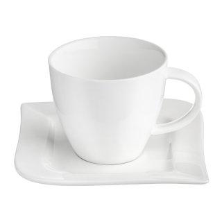 Komplet kawowy Fala 220 ml 12-elementowy AMBITION