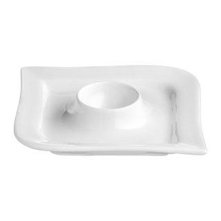Naczynie na jajko Fala / Kubiko 12,5 x 12,5 cm AMBITION