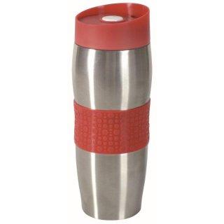 Kubek termiczny z podwójną ścianką Fusion Fresh Red 380 ml AMBITION