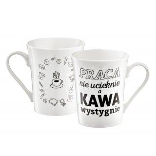 Kubek Coffee Kawa wystygnie 370 ml AMBITION