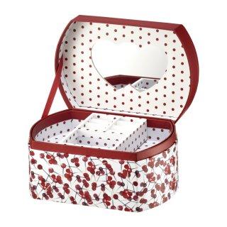 Pudełko z lusterkiem Look Holly 16,5x11x8,5 cm AMBITION