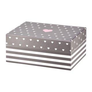 Pudełko z lusterkiem Look Classic 18x11x7,5 cm AMBITION