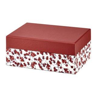 Pudełko z lusterkiem Look Holly 18x11x7,5 cm AMBITION