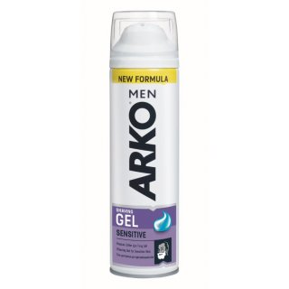 Żel do golenia 200 ml Sensitive ARKO MEN