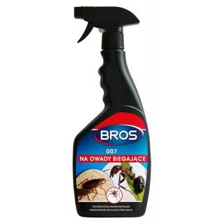 007 na owady biegające 500 ml BROS