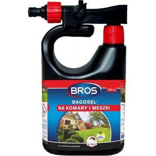 Oprysk przeciw komarom i meszkom Bagosel 900 ml BROS