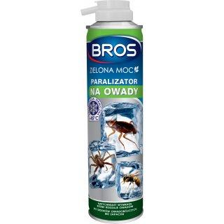 Paralizator na owady zielona moc 300 ml BROS