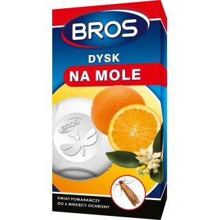 Dysk na mole kwiat pomarańczy BROS