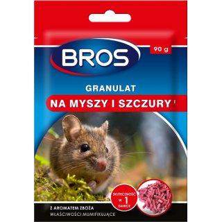 Granulat na myszy i szczury 90 g BROS
