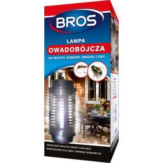 Lampa owadobójcza na komary muchy meszki BROS