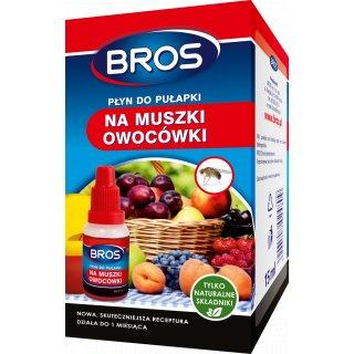 Płyn do pułapki na muszki owocówki 15 ml. BROS