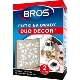 Płytki na owady, muchy 2 szt Duo Decor BROS