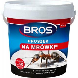 Proszek na mrówki 500g BROS