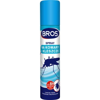 Spray na komary i kleszcze 90ml BROS
