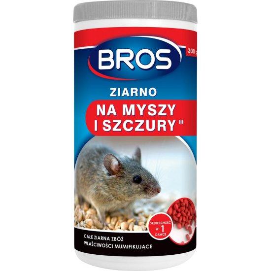Ziarno na myszy i szczury 300 g BROS