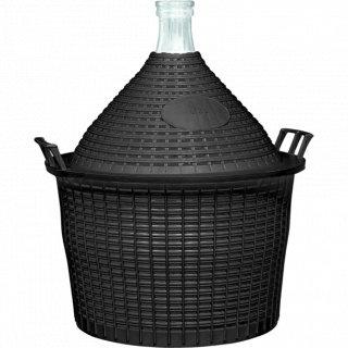 Balon do wina 20l w koszu plastikowym o57/40 mm BROWIN