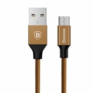 Kabel Yiven micro-USB | 1,5 m brązowy BASEUS