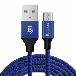 Kabel Yiven micro-USB | 1,5 m niebieski BASEUS