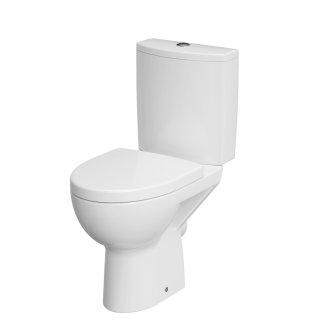Kompakt WC Parva 3/6 odpływ poziom deska duroplast CERSANIT