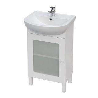 Szafka łazienkowa pod umywalkę biała Arteco 50 cm CERSANIT