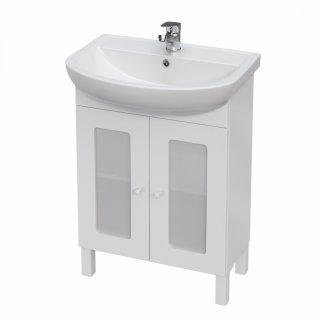 Szafka łazienkowa pod umywalkę biała Arteco 60 cm CERSANIT
