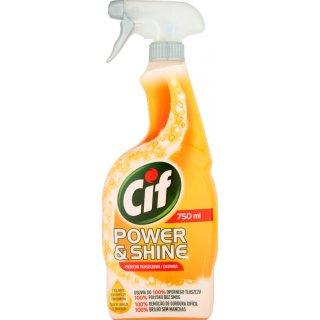 Płyn przeciw tłuszczowi w sprayu 750 ml CIF