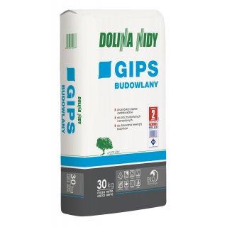 Gips budowlany 30 kg DOLINA NIDY