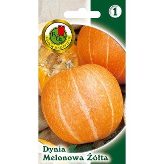 Dynia Olbrzymia Melonowa Żółta 2 g