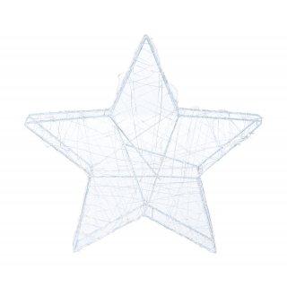 Gwiazda świąteczna z oświetleniem LED 5x30x29 cm KAEMINGK