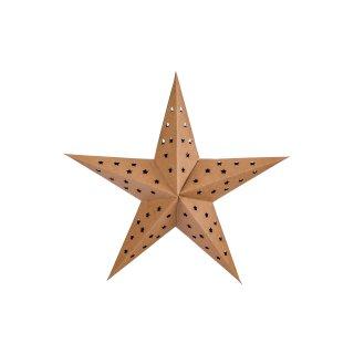 Gwiazda dekoracyjna świetlna LED 40 cm złota KAEMINGK