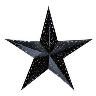 Gwiazda choinkowa LED 60 cm czarna KAEMINGK