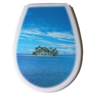 Deska sedesowa Lilia foto wyspa BISK