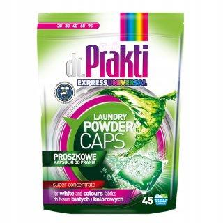 Kapsułki proszkowe do prania Universal 45 szt. DR.PRAKTI