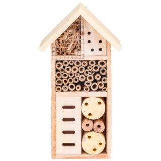 Drewniany domek dla insektów Żółty