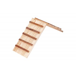 Drewniany mostek dla królika
